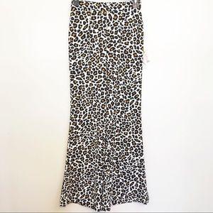 Show Me Your Mumu Cheetah Eli Trouser wide leg L